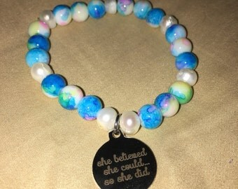 She Believed & Freshwater Pearls