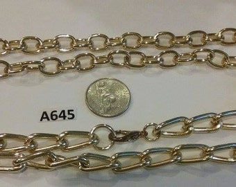 Vintage finding lot Repurpose Repair  lot thick heavy high quality chain  A645