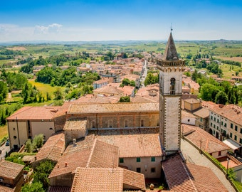 Tuscany View From Da Vinci Museum, Italy Photography, Tuscany Photography