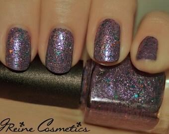 Mardi Gras Mambo - Purple, Green and Gold Glitter Nail Polish LIMITED EDITION