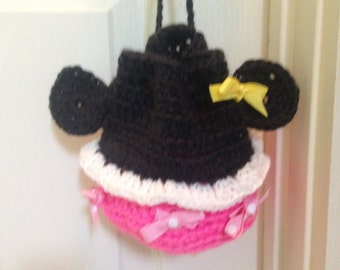 Crochet Pattern for Minnie Mouse Purse