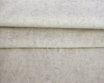 Vintage Antique wool upholstery fabric homespun hand-woven