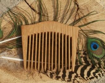 Wooden comb Рocket comb Handmade comb Hair crest Wooden crest