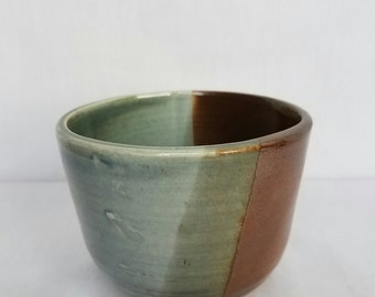 Small Green and Brown Bowl