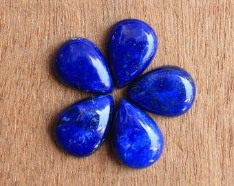 Natural pear shape Lapis Lazuli Loose Gemstone AAA All mm size available - 7x10, 8x12, 9x13, 10x14, 12x16, 13x18, 15x20, 16x22, 18x25, 20x30