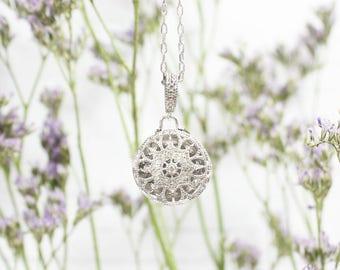 Bea Locket Necklace