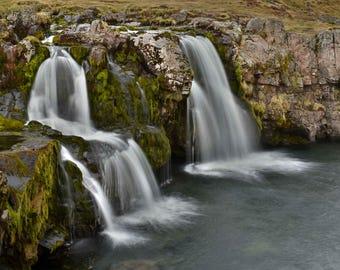Kirkjufellsfoss - Icelandic waterfall