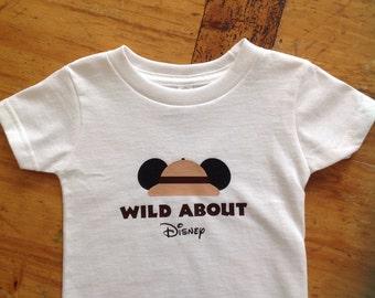 Child Wild About Disney