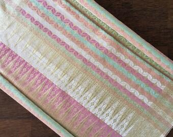 songket Balapak Kristal Pelangi // handwoven songket// fabric