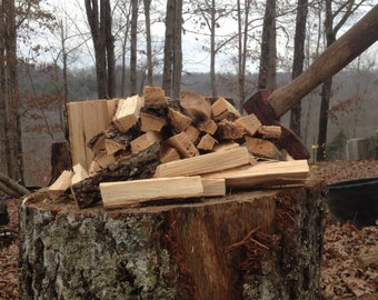 Hickory Barbecue Wood Smoking or Grilling Chunks