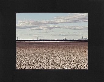 """Custom Matted Print 0109. """"Sandy Hook to NYC"""" - Collectable Photographic Artwork. (11"""" x 14"""")"""