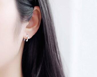 Elegant Olive Branch Earring Silver Ring Olive Leaf Earring Minimalist Earring Gift For Her