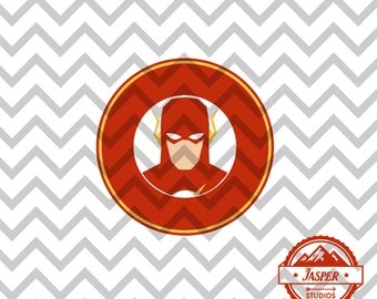 The Flash - Minimal Design Unique Superhero SVG Cuttable Design