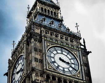 London's Big Ben Canvas Photo