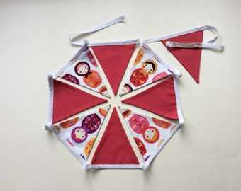 Russian Doll Bunting in a Bag