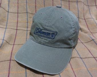 Vintage Coleman Outdoor Cap Hat Coleman Cap Hat