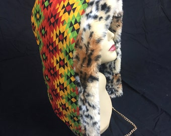 Tribal Reversible Hood
