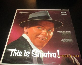 Frank Sinatra vinyl -  This is Sinatra - Original - Lp in VG+ to VG++  Condition.