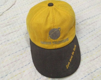 vintage 24 HOUR TELEVISION CAP embroidered