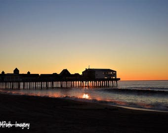Sunrise at Old Orchard Beach Pier