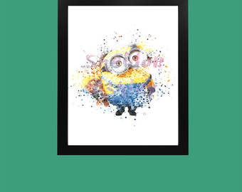 Minion & Bear Digital Art Download