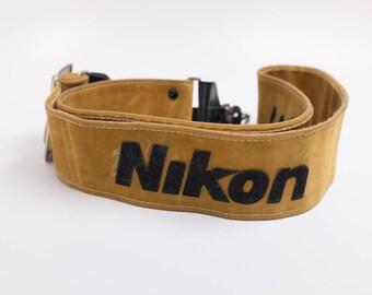 RARE Vintage Nikon Camera Strap
