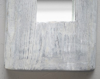 white long mirror