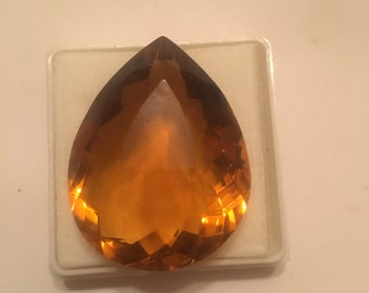 Huge 90.50  Madeira Citrine