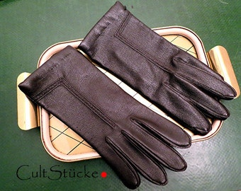Vintage classic gloves Brown