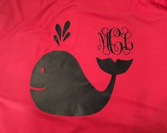 Summer monogram shirt