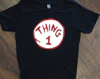 Kids Thing One Dr.Seuss Tee