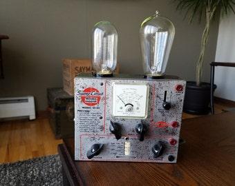 Vintage 1960s Electronics Tester Lamp
