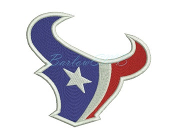 7 Size houston texans Embroidery Designs Instant Download 8 Formats machine embroidery pattern
