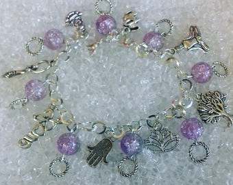 Spiritual charm bracelet/gifts for her