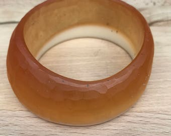 Chunky Orange Bracelet