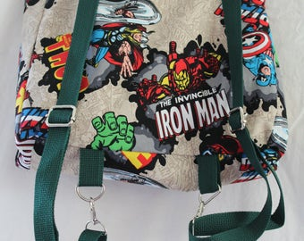 Avengers Convertible Backpack/Tote bag