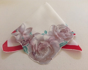 Brown Rose Handkerchief