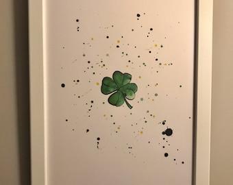 clover print