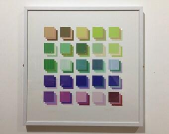 Three Grids by Sean Clark