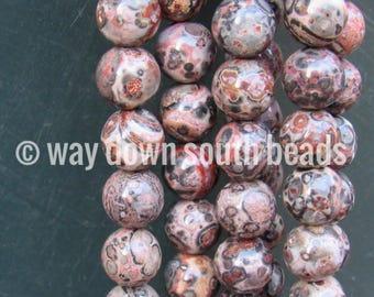 10MM LEOPARD JASPER Beads