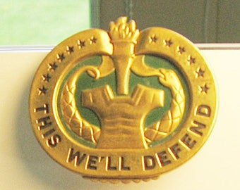 Army Drill Instructor Badge
