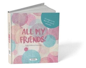 Friendship book 'All my friends!'