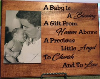 Baby Commemorative Plaque