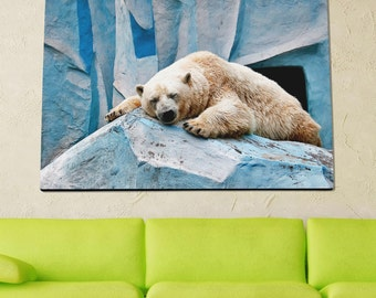 Polar Bear Poster Limited Edition 24x36 Poster | Polar Bear Canvas