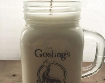 Upcycled Jar Candle
