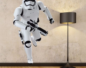 Stormtrooper Full Color Decal, Star Wars Full color sticker, wall art, cn 063