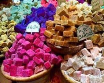 100% natural authentic Moroccan solid perfumes / Arabian perfume blocks resin perfume block