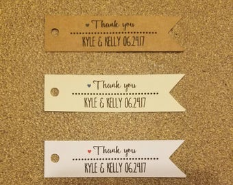 Thank you tags, wedding tags, favor tags, rustic, favor tags for guests, Bridal Shower Tags, wedding favors, wedding, thank you, 25 favors