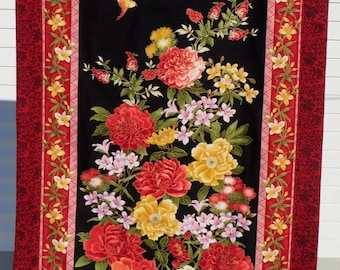 Wall Hanging: Bird with Flowers