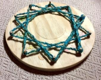 Fun Wooden (Waldorf inspired)  Math Wheel